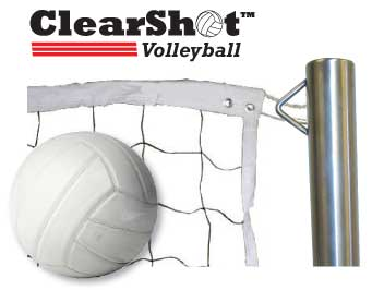 ClearShot pool volleyball